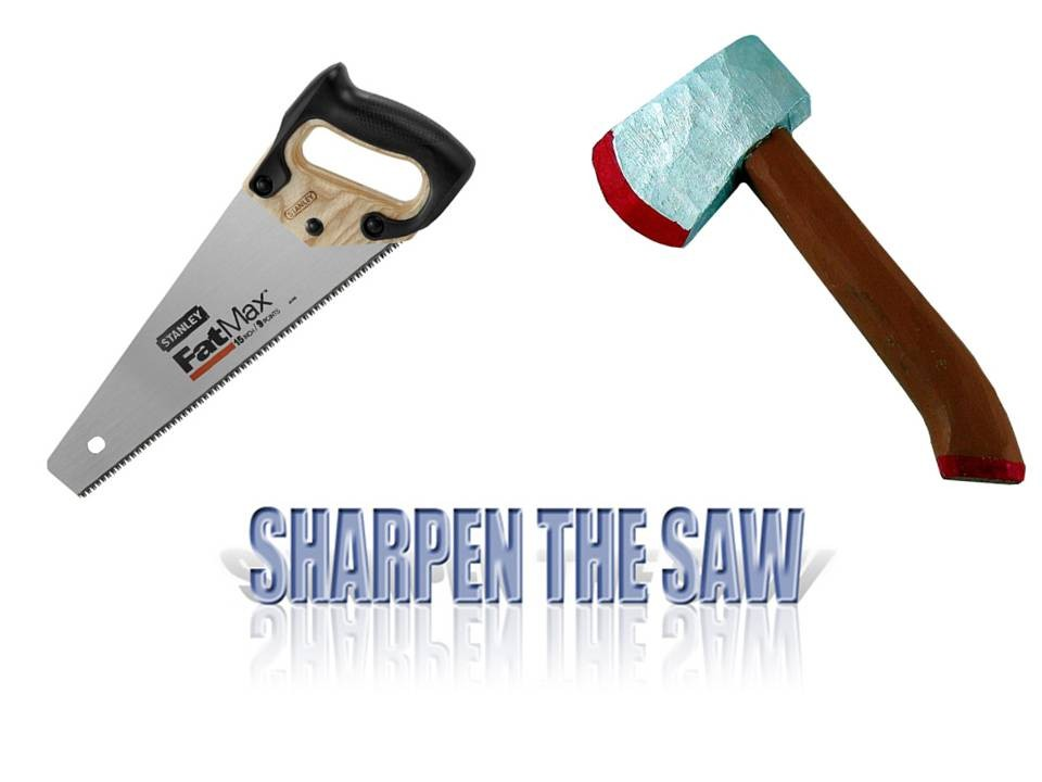 Habit 7: Sharpen the Saw - Buyers Meeting Point - The Point